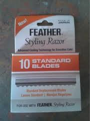 Feather Styling Razor Replacement Blades - 10 Pack