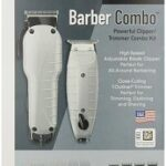 Andis Barber Combo-Powerful Clipper / Trimmer Combo Kit