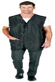 Betty Dain Cool Vent Barber Vest - Black - Style 1310