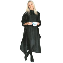 Scalpmaster Nylon Chemical Cape - Black - Style 3015