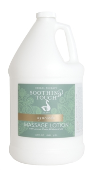 Soothing Touch Ayurveda Massage Lotion - Gallon