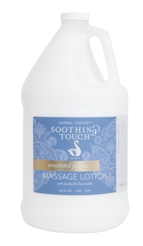 Soothing Touch Unscented Jojoba Massage Lotion - Gallon