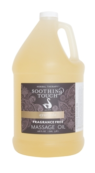 Soothing Touch Fragrance Free Massage Oil - Gallon