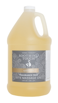 Soothing Touch Fragrance Free Lite Massage Oil