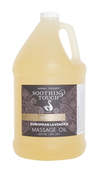 Soothing Touch European Lavender Massage Oil - Gallon