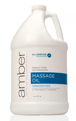 Amber Unscented Massage Oil - Gallon