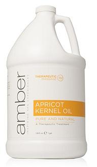 Amber Apricot Kernel Oil - Gallon