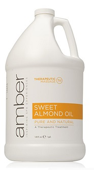 Amber Sweet Almond Oil - Gallon