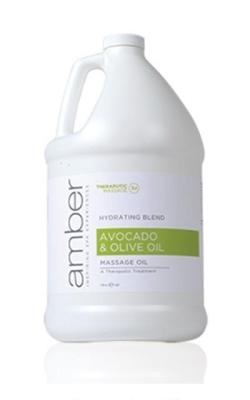 Amber Olive Oil & Avocado Oil - Gallon