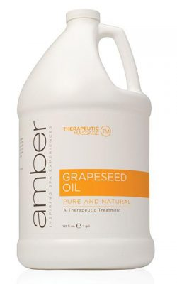 Amber Grapeseed Oil -Gallon