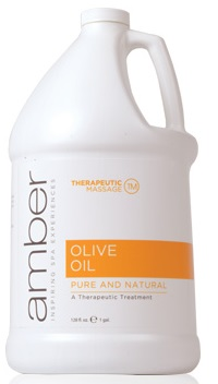 Amber Olive Oil - Gallon