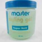 Master Well Comb Styling Gel Super Hold Professional Formula