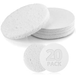 Compressed Facial Sponges (20 Pack)