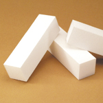 White Buffing Blocks