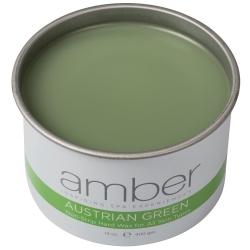 Amber Austrian Green Wax