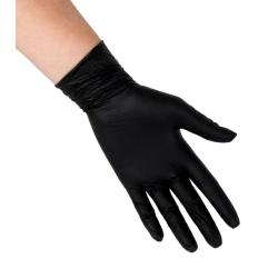 Black Vinyl Disposable Gloves 100ct