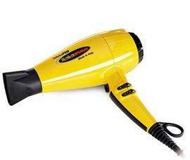 BaBylissPro BABFB1 ItaliaBrava Hairdryer Yellow - 2000 Watts