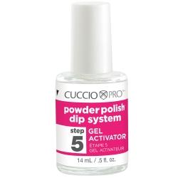 Cuccio Pro Powder Polish Dip System Step 5 Gel Activator .5 oz