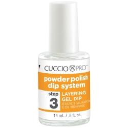 Cuccio Pro Powder Polish Dip System Step 3 _ Layering Gel Dip .5 oz