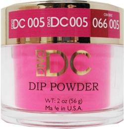 DND - DC Dip Powder - Neon Pinkn 2oz - #005