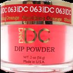 DND - DC Dip Powder - Shocking Orange 2oz - #063