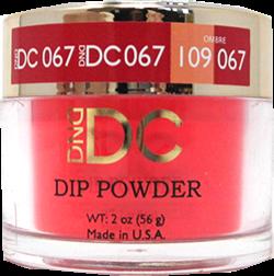 DND - DC Dip Powder - Fire Engine Red 2oz - #067