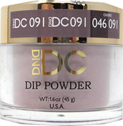 DND - DC Dip Powder - Shadow Gray 2 oz - #091