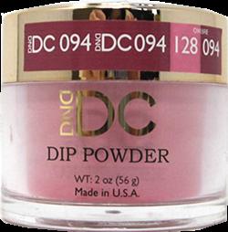 DND - DC Dip Powder - Aqua Pink 2oz - #094