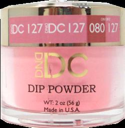 DND - DC Dip Powder - Deep Chestnut 2oz - #127