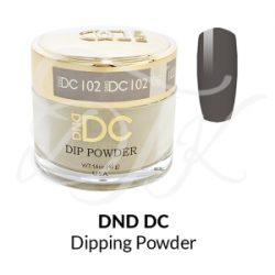 DND DC Dip Powder 102 CHARCOAL BURST