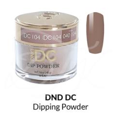 DND DC Dip Powder 104 DUSTY PEACH
