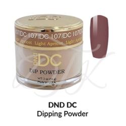 DND DC Dip Powder 107 LIGHT APRICOT