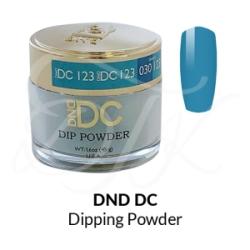DND – DC Dip Powder – 123 CORNFLOWER BLUE