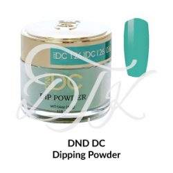 DND – DC Dip Powder – 126 BEAUTIFUL TEAL