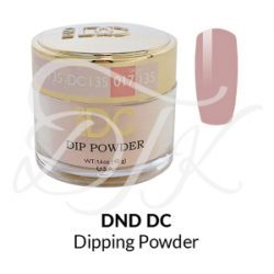 DND DC Dip Powder 135 LUMBER PINK