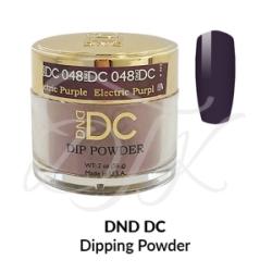 DND DC Dip Powder 048 ELECTRIC PURPLE
