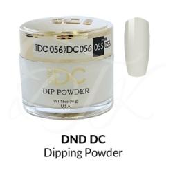 DND DC Dip Powder 056 WHITE CHALK