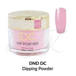 DND DC Dip Powder 058 AQUA PINK