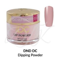 DND DC Dip Powder 059 SHEER PINK