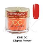DND DC Dip Powder 064 VALENTINE RED