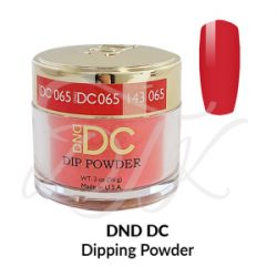 DND DC Dip Powder 065 THAI CHILI RED