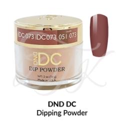 DND DC Dip Powder 073 DUSTY CORAL