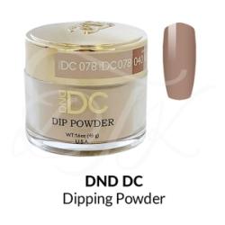 DND DC Dip Powder 078 ROSE BEIGE