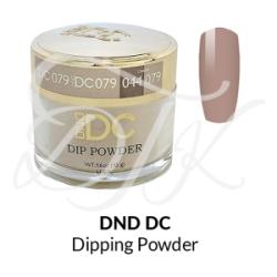 DND DC Dip Powder 079 LEAD GRAY