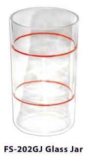 steamer glass jar