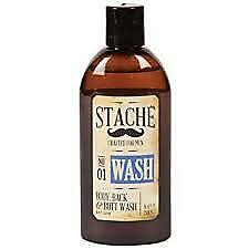Stache Body, Back and Butt Wash for Men 8.4oz