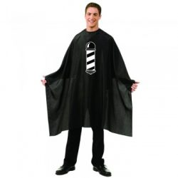 BETTY DAIN Barber Pole Styling Cloth CA-201S-BLK