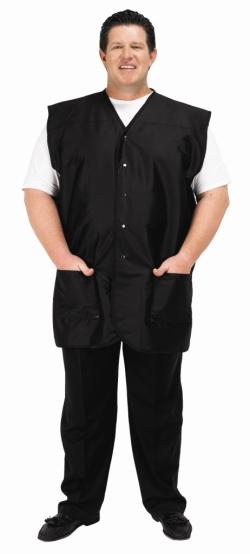 Betty Dain Plus Size Men's Vest - Black - Style 2218