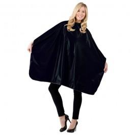 Betty Dain Jumbo Shampoo Cape - Black - Style 324