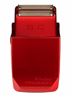 StyleCraft Wireless Prodigy Turbocharged Foil Shaver Red